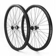 29er carbon mtb wheels 40mm width wheel for DH 20x110mm/10X135 powerway DH16 hub