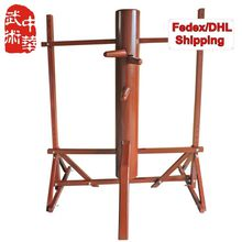 [FEDEX/DHL] NEW! Wholesale and Retail, Frame elm Wing Chun wooden dummy, Customized for height and color, FREE GIFTS