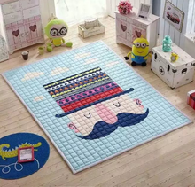 Original single original active cotton quilted floor mat