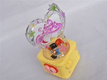 Music Box Cake Model Music Box Funny Accessories Happiness Play SetVehicle Toys Beat Gift for Children