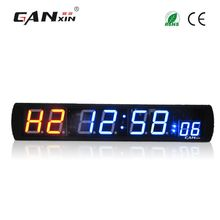 [GANXIN]4 inch Large Gym Fitness Timer Remote Control Indoor Crossfit Interval Training Electric Timer LED Adjust Brightness Wholesale