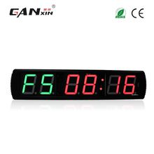 [GANXIN]4 inch Gym Fitness Timer Remote Control Crossfit Interval Training Electric Timer LED Digital Adjust Brightness Gym Clock Wholesale