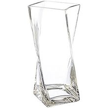 Various Styles Promotion Decorative Flower Glass Vase With Rope Decoration