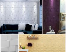 Modern Simple Wall Decorative Wind Chase Designed Light-weight 3D PVC Wall Panels