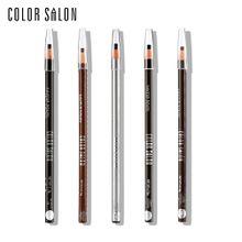Color Salon Eyebrow Pencil Professional Waterproof EyeBrow Pencil Beauty Cosmetics Eye Pen Make Up Tool Natural Eyebrow Enhancer