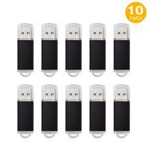 Bulk 10PCS USB 2.0 Flash Drives 4GB Memory Stick High Speed Thumb Pen Drive Storage Promotion Gifts Colorful Free Shipping