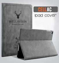 IPAD PRO 10.5 TPU COVER , Good quality child protect pu leather Cover & Case deer log