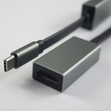 USB3.1 type C to HDMI adapte,HDMI 4Kx2K 30HZ Apple computer USB C HDMI Cable sansung S8,macbook pro,chromebook , Tablet pc or phone to HDMI