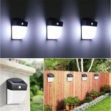 Solar Lights 24LEDs Human Body Motion Induction Solar powered LED lights Outdoor Waterproof Energy Saving Garden Emergency lamp