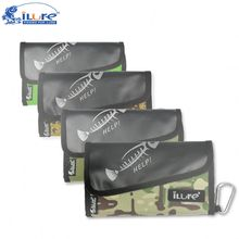 iLure Fishing Soft Lure Bags 35x21x3cm 240g Professional waterproof Sequin jig bag Bait Bags Large capacity bag free shipping