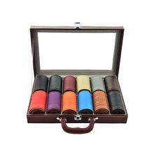 Universal fashion 38 cm great quatliy microfiber embossing leather with needle and thread used for all seasons