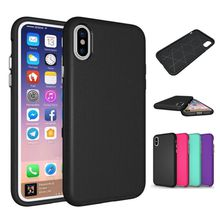 Hybrid Armor Cover Case for iphone X 8 6 6S 7 Plus / Samsung Galaxy S8 Plus Hybrid Dual Layer Heavy Duty Tough Shell TPU+PC Phone Case
