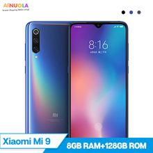 Original Xiaomi 9 8GB 128GB 48MP Triple Camera Snapdragon 855 6.39'' Octa Core AMOLED Rear Camera Fingerprint NFC Mobile Phone