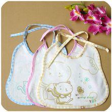 Baby bib, baby bib baby saliva towel bib, cartoon print