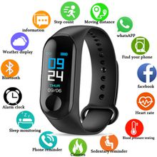 M3 Smart Band Wristband Heart Rate Activity Fitness Tracker Smart Bracelet