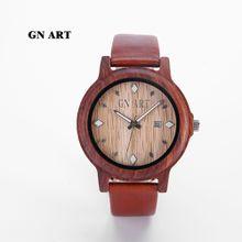 Red Sandalwood Wooden Watch