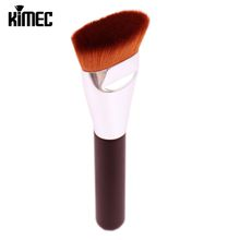 New Arrival Single Makeup Brush In Flat Shape Mainly Apply For Liquid Foundation Face Contour Beauty Cosmetic Tool Wholesale