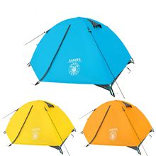 Ultralight 2 Person Tent Waterproof Aluminum Pole Double Layer Camping Tent 2 Person Beach Tent Tourism Naturehike Quality
