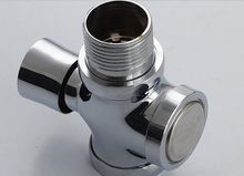 All copper stool delay valve Pissing hand by self-closing toilet flush valve toilet flush valve Xiao Ti