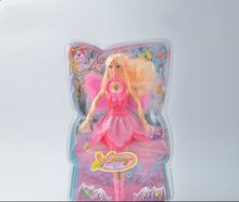 Newest wholesale pink Beautiful Flying Fairy doll with wings