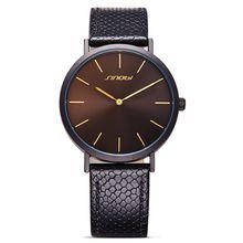 New Fashion Black Womens Wrist Watches Leather Watchband Luxury Brand Simple Ladies Geneva Quartz Clocks feminino
