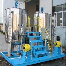Dosing device, water treatment, high energy-efficient, customized