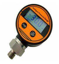 Digital Oil Pressure Gauge With Progress Bar And Battery Power Pressure Gauge