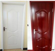The door of the bedroom door