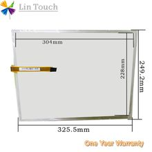 NEW AMT 9543 AMT9543 AMT-9543 4Pin 15Inch 91-09543-00A HMI PLC touch screen panel membrane touchscreen Used to repair touchscreen
