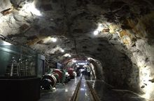 Lighting for use in deep mines and arduous industrial environments
