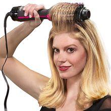 Negative ion hair comb multi-function hair straightener high-power infrared hair dryer hair curlers