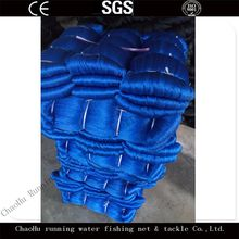 Running Water Cheap 5md to 1000md Any Color Double Selvage Double Knot Different Styles Nylon Fishing Nets Prices For Sales