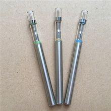 Disposable electronic cigarette vape pens Flat pens green oil vape pens empty 0.5ml Thick oil vaporizer