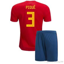 4d958524490 Free Shipping Spain soccer jersey 2018 World Cup Soccer Jersey Spain kits  MORATA ISCO ASENSIO RAMOS ...