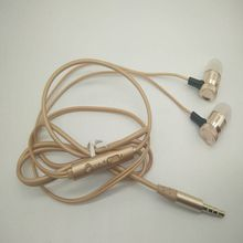 earphone for iphone samsung stereo heavy bass headphone Controller Microphone Mobile phone headset