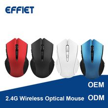 OEM 2018 New 2.4G Optical Small Wireless Mouse silent click mute computer mice with nano receiver adjustable 1600 DPI for Mac