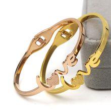 love bracelet women bijoux new fashion jewelry wholesale bracelets & bangles fine quality gift