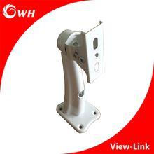 White Color Adjustable Metal Wall Mount CCTV Bracket Video Surveillance Security Camera Holder