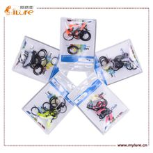 Ilure High Quality Fishing Tool Plastic Fishing Hook Keeper Size 1.5cm*0.7cm 50pcs/lot drop shipping