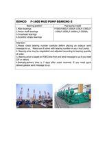 BEARING(NUP464777Q4/C9YA4)FOR BOMCO F-1600 MUD PUMP