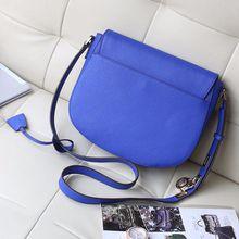 2018 new Free delivery perfect quality handbags for women Europe retro shoulder bag saddle bag lock bag