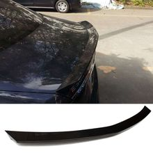 V Style Carbon Fiber Trunk Boot Lip Spoiler E200L E300L E320L W213 E-C Fit For Benz