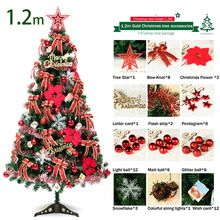 1.2m Christmas tree luxury package can be customized Christmas tree 0.6m 0.8m 1.2m 1.8m 2.1m 2.5m 2.7m Christmas decorations product CT-001