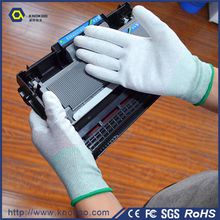 Conductive Copper Fiber Gloves ESD Safety Hand Gloves