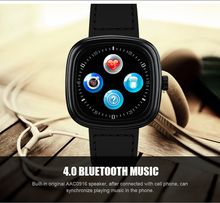 Bluetooth Smart Watch M2 MTK2502C 1.22inch IPS Screen Resolution 240*240 With Heart Rate Monitor Gesture Control Fashion Wristwatch