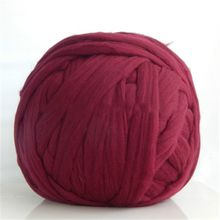 100% Australia Merino Wool Roving Top Super Chunky Giant Thick Wool Yarn for Blankets in 100 Colors Sample Purchase