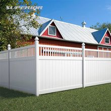 PVC Lattice Fence