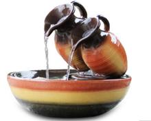 Hairixing creative water fountain humidifier decorative handicraft ceramic decoration classic glaze