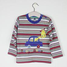 New T Shirt Cartoon Kids Tops Boys Girls T-Shirt Long Sleeve Clothing Casual Baby Boy Girl Tees Children Cotton Clothes