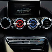 OEM new item Aircraft engines car vent stick/ clip air freshener car perfume for air conditioner